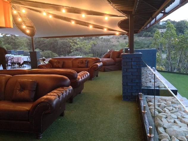 The outside lounge at the Priva Gastrolounge. Photo courtesy of the  restaurant.