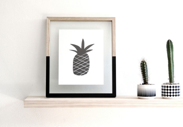 The perfect pineapple print.