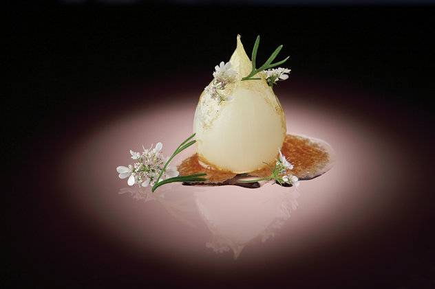 Another exquisite dish by executive chef David Higgs at Five Hundred. Photo courtesy of the restaurant.