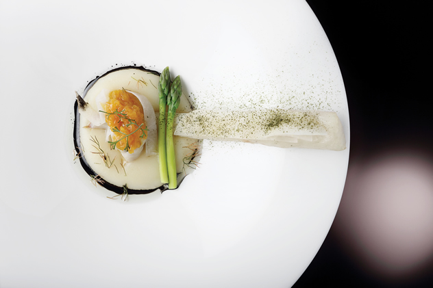 Works of art with food  by executive chef David Higgs at Five Hundred. Photo courtesy of the restaurant.