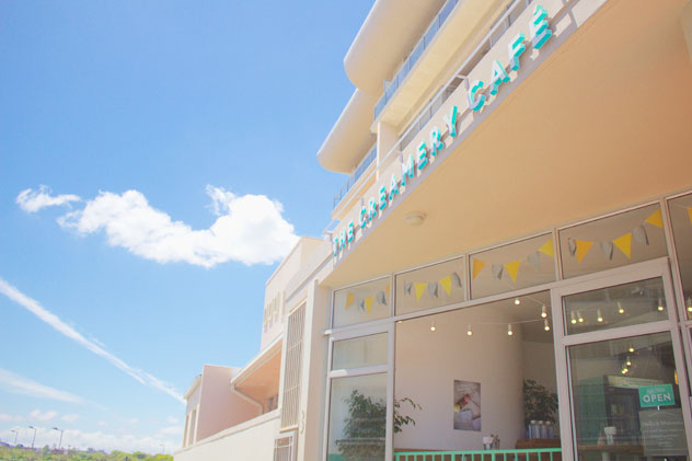 Outside The Creamery's Mouille Point branch. Photo courtesy of the store.