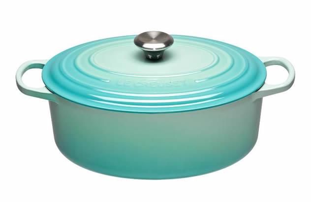 A cool minty casserole dish.