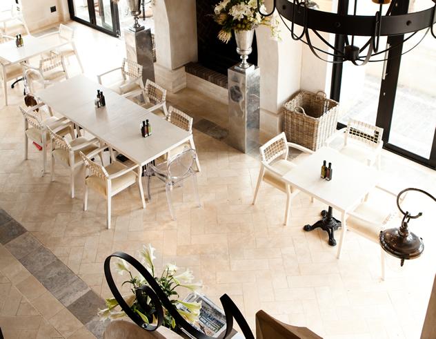 The interior at Tredici - The Baker's Dozen. Photo courtesy of the  restaurant.