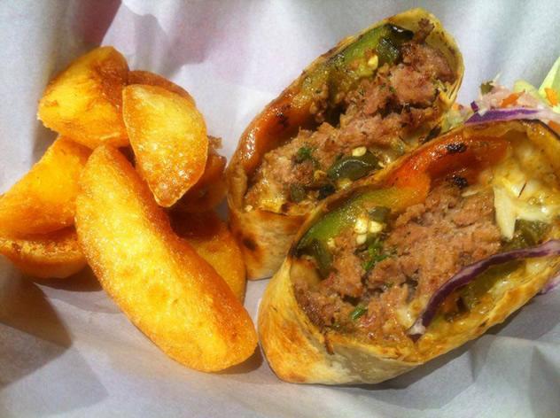 Food at Baha Taco. Photo courtesy of the restaurant.