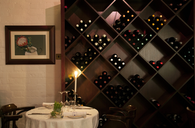 A romantic table at Brasserie de Paris. Photo courtesy of the restaurant.