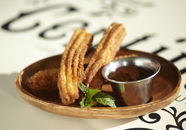 Churros at El Burro Taqueria. Photo supplied.