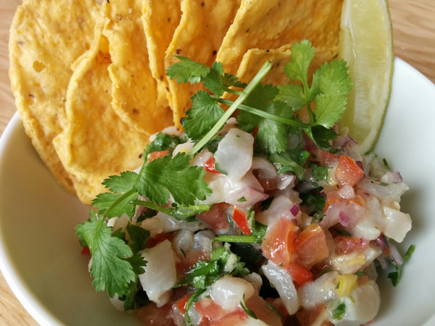 Ceviche and tacos at El Burro. Photo courtesy of the restaurant.