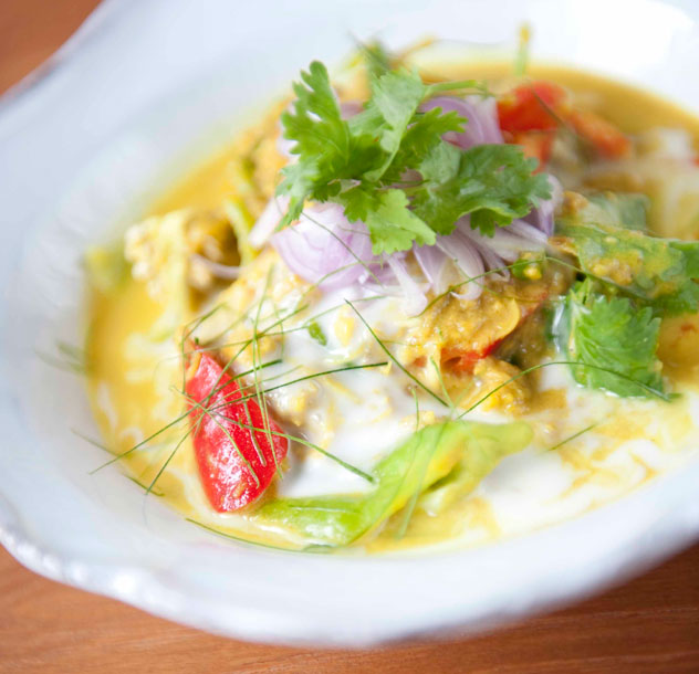 Another dish at Nahm - fermented fish and pork simmered in coconut cream. Photo courtesy of the restaurant.