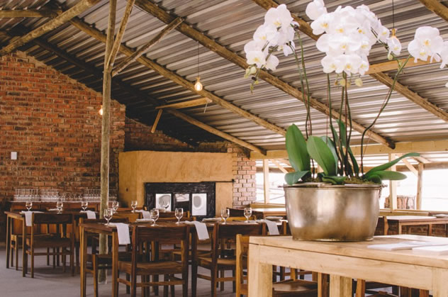 The interior at Fermier. Photo courtesy of the restaurant.
