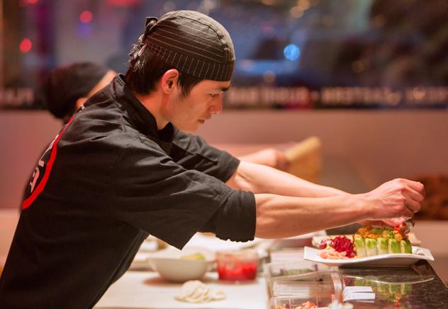 Fushin sushi chef