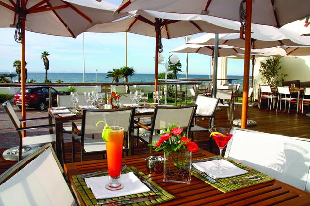 Ginger The Restaurant view of ocean
