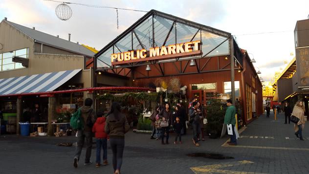 Granville Island Public Market.