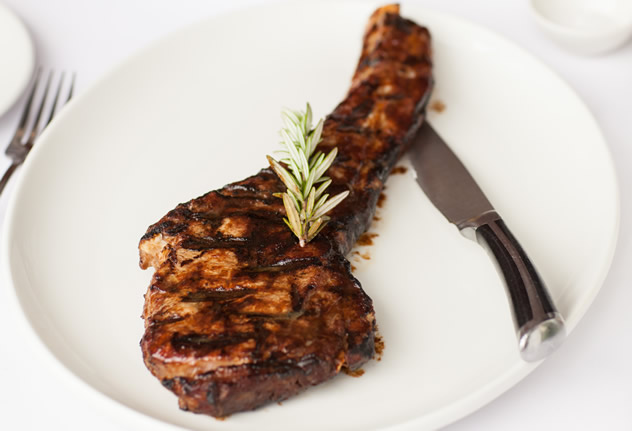 A juicy steak at The Butcher Shop & Grill in Sandton. Photo courtesy of Jan Ras.