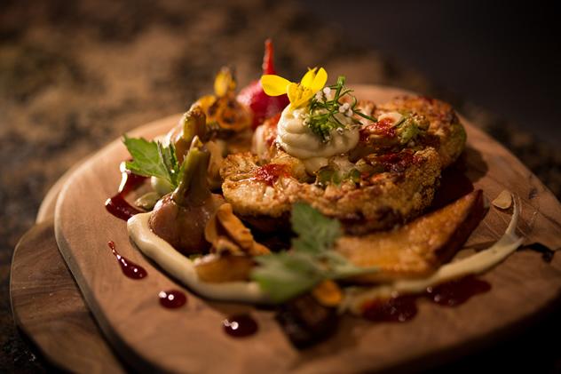 A dish at Foliage. Photo courtesy of the restaurant.
