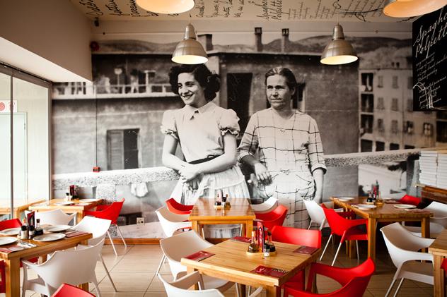 The interior at Nonna Mia's Kitchen. Photo courtesy of the restaurant.