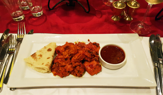 Jeera curry plate