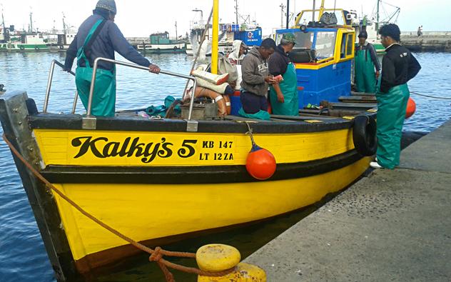 Kalky's boat