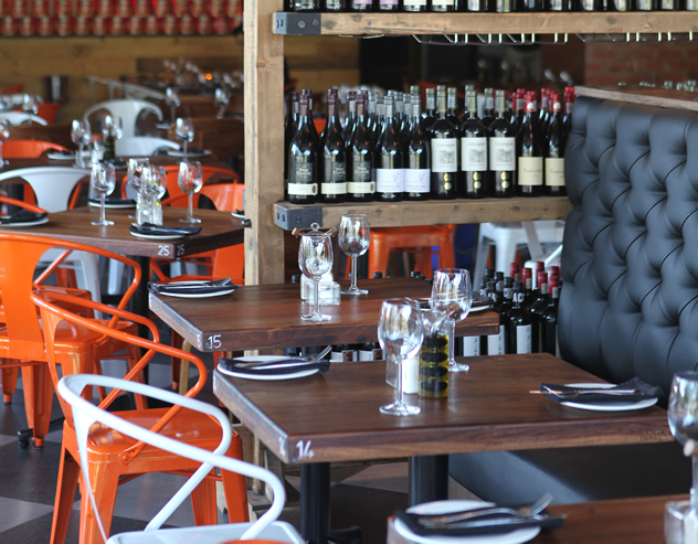 The interior at Lupa Osteria. Photo courtesy of the restaurant.