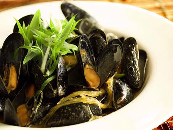 Mussels at The Great Eastern Food Bar