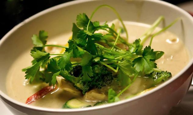 Nam Jai House Green Curry
