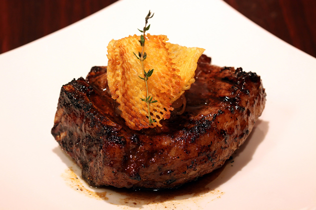 A mouthwatering streak at Pioneer's Butcher and Grill. Photo courtesy of the restaurant.