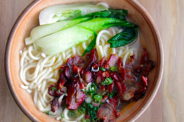 Pron pork noodles