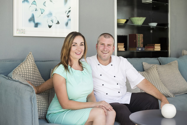 Chef Proprietor Ryan Smith and co-owner Svetlana Smith. Photo courtesy of the restaurant.