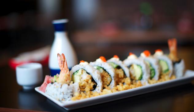 Sushi at Takumi