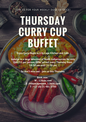 curry cup offering