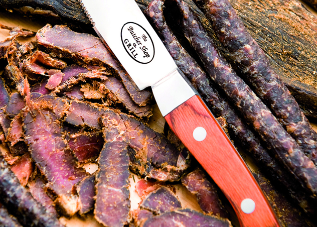 Biltong and dried sausage at The Butcher Shop & Grill in Sandton. Photo courtesy of the restaurant.
