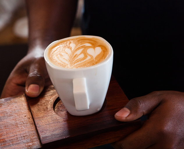 Coffee from Cape Town's Tribe Coffees at Republik. Photo courtesy of the restaurant.