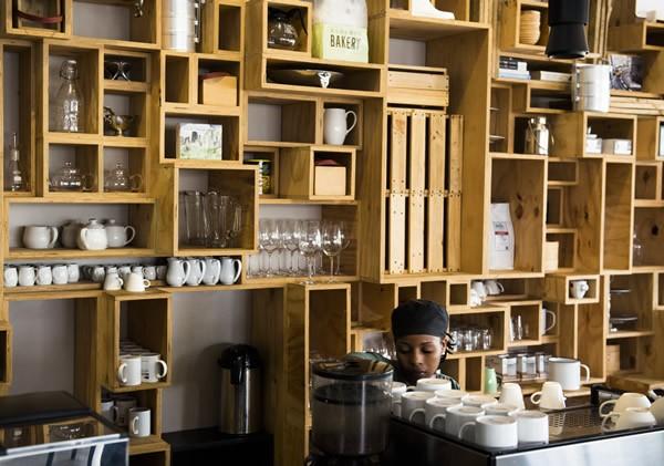 The coffee counter at Carlton Café Delicious. Photo courtesy of the restaurant.