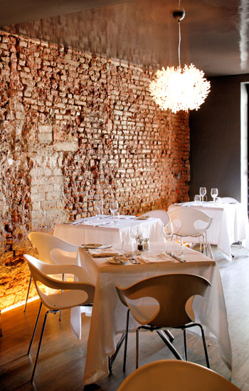 The interior at Bistrot Bizerca. Photo courtesy of the restaurant.