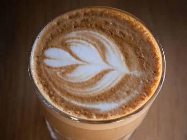 A coffee at Bootlegger