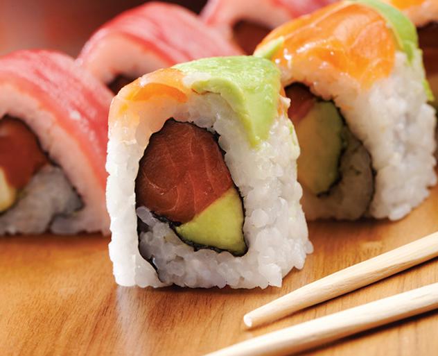 Sushi at Beluga. Photo courtesy of the restaurant.