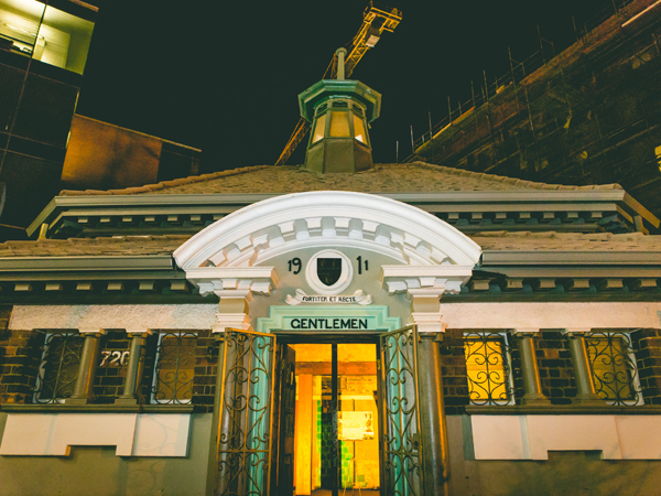 Joburg's new Edwardian-inspired club and cocktail bar, Gentlemen's Arthouse in Newtown