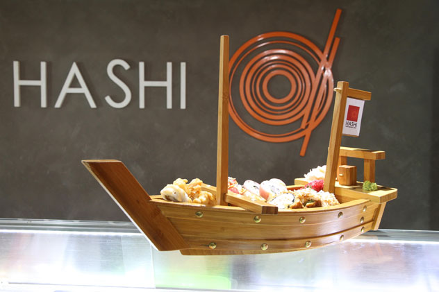 The Hashi Platter. Photo courtesy of the restaurant.