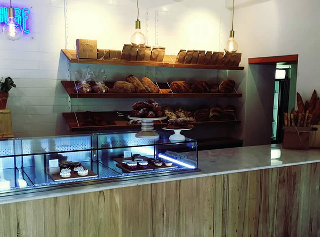 The counter at Hog House Bakery and Café. Photo courtesy of the restaurant.