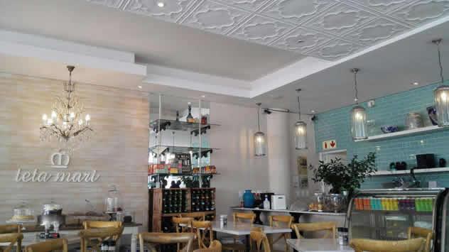 Inside at Teta Mari. Photo courtesy of the restaurant.