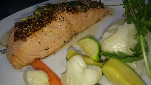 A seafood dish at La Cucina di Ciro. Photo courtesy of the restaurant.