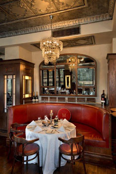 The interior at Maximillien. Photo courtesy of the restaurant.