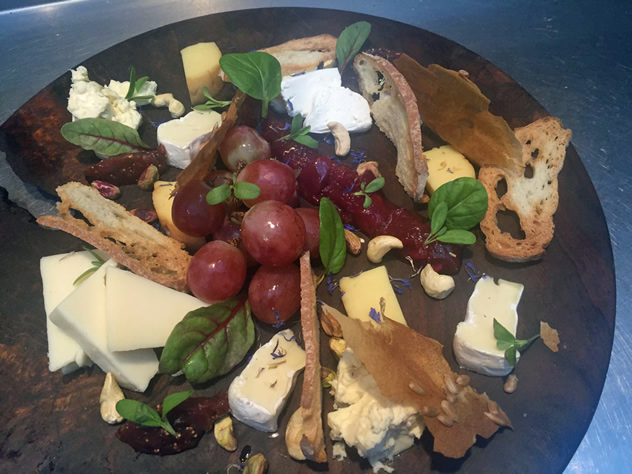 Myoga Cheese platter. Photo courtesy of the restaurant.
