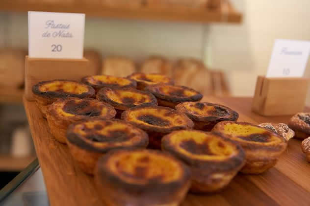 Pastéis de nata at Hog House Bakery and Café. Photo courtesy of the restaurant.