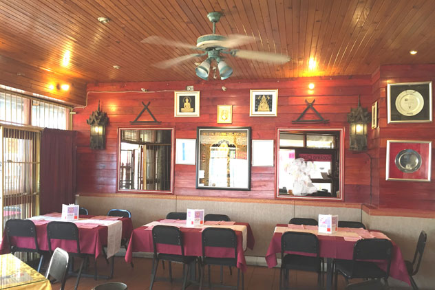 Inside Sai Thai. Photo courtesy of Hennie Fisher.