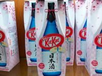 Sake flavoured kit kat