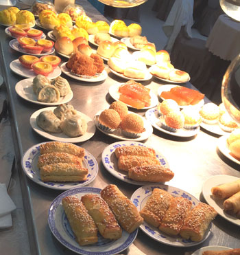 Delicious dim sum at Shun De Restaurant. Photo courtesy of Hennie Fisher.