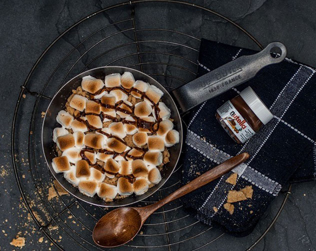 The s'more in all its glory. Photo courtesy of the restaurant.