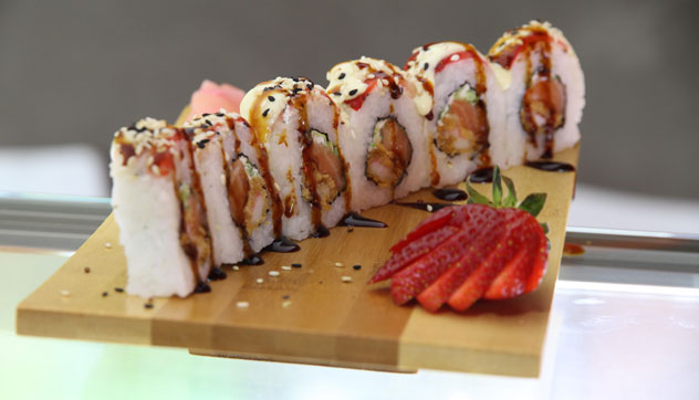The Temptation Roll-up. Photo courtesy of the restaurant.