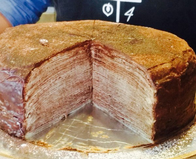The Whippet crepe cake