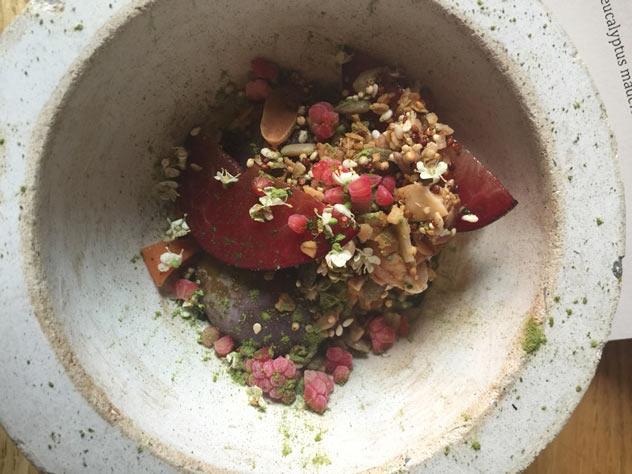 The granola pot. Photo courtesy of Aileen Lamb.